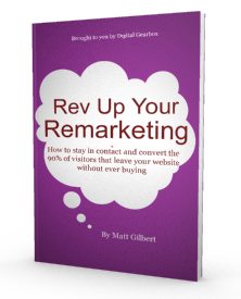 Rev Up Your Remarketing Ebook
